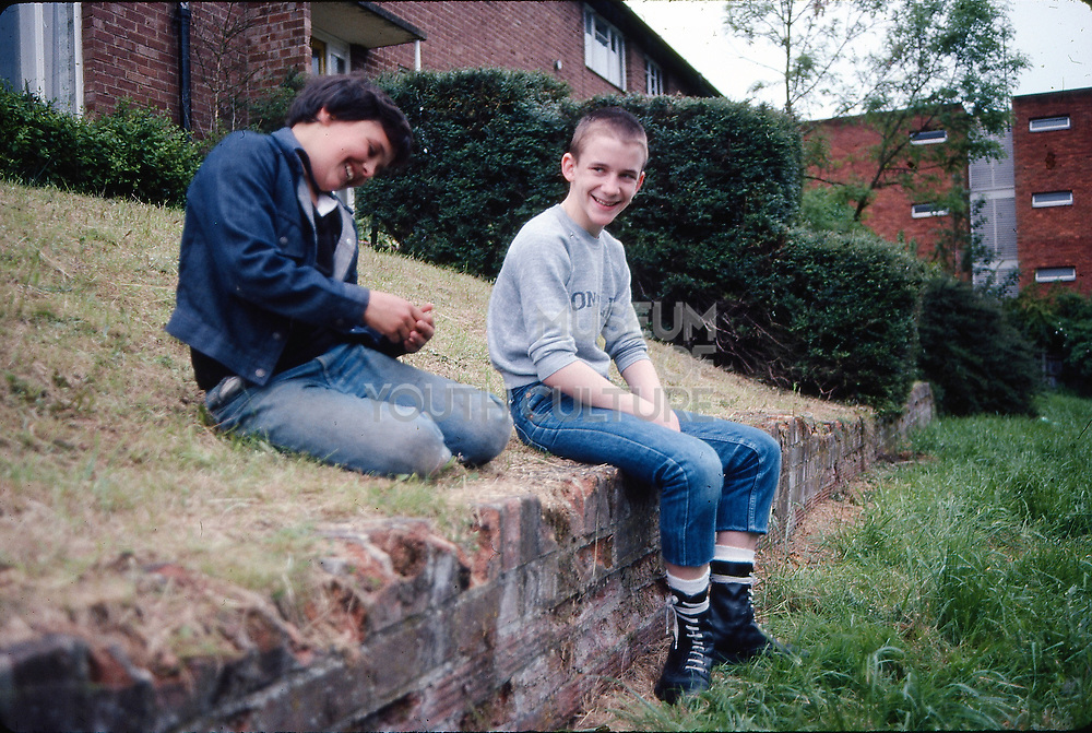 Alvin and Neville. Hawthorne Road, High Wycombe, UK, 1980s.