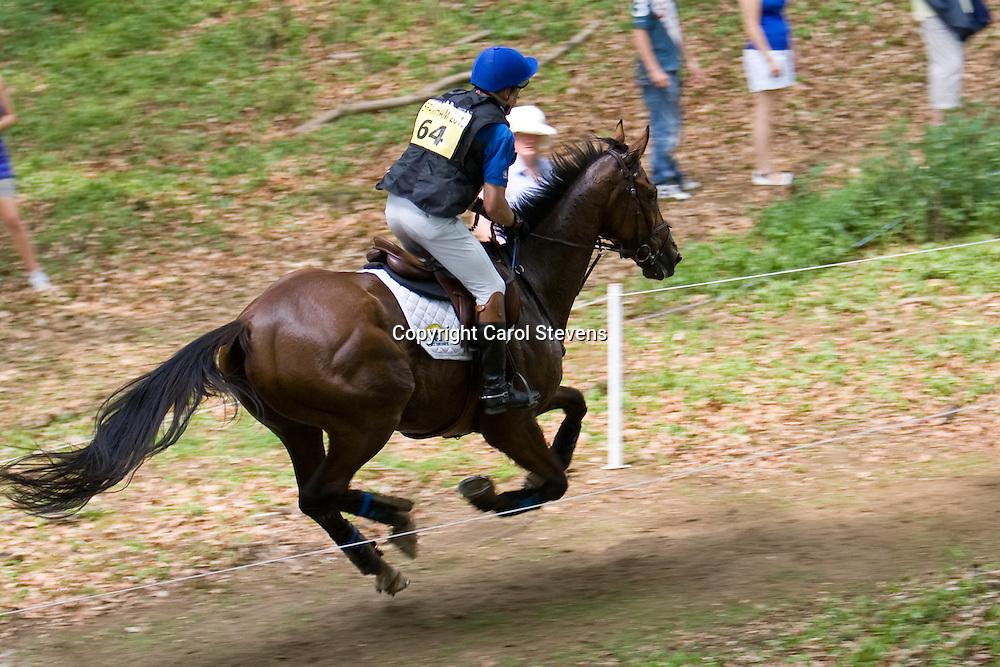 Joris Vanspringel and Lully des Aulnes at Bramham Horse Trials  2010
