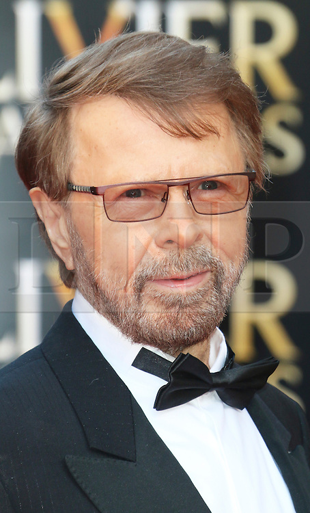 © Licensed to London News Pictures. 13/04/2014, UK. Bjorn Ulvaeus, The Laurence Olivier Awards, Royal Opera House, London UK, 13 April 2014. Photo credit : Richard Goldschmidt/Piqtured/LNP