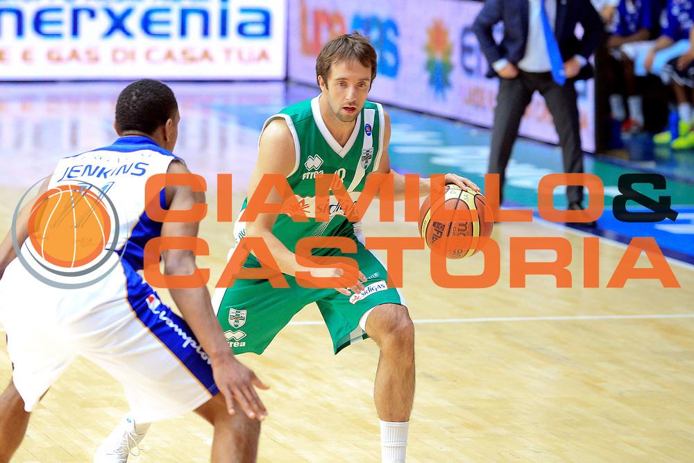 DESCRIZIONE : Cant&ugrave; Lega A 2013-14 Pallacanestro Cant&ugrave; Sidigas Avellino<br /> GIOCATORE : Cavaliero Daniele<br /> CATEGORIA : Plaleggio<br /> SQUADRA : Sidigas Avellino<br /> EVENTO : Campionato Lega A 2013-2014<br /> GARA : Pallacanestro Cant&ugrave; Sidigas Avellino<br /> DATA : 10/11/2013<br /> SPORT : Pallacanestro <br /> AUTORE : Agenzia Ciamillo-Castoria/I.Mancini<br /> Galleria : Lega Basket A 2013-2014  <br /> Fotonotizia :  Cant&ugrave; Lega A 2013-14 Pallacanestro Cant&ugrave; Sidigas Avellino<br /> Predefinita :