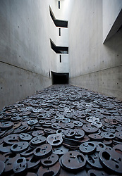 The Memory Void room at Judisches or Jewish Museum in Kreuzberg central Berlin Germany