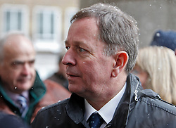 © Licensed to London News Pictures. 18/01/2013. London, U.K..MARTIN BRUNDLE at the Memorial service for Professor Sid Watkins, former FIA Formula One medical delegate, and crusader for motor sport safety, midday today (18/1/2013) at St.Marylebone Parish Church..Photo credit : Rich Bowen/LNP
