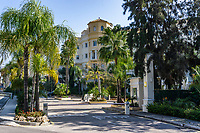 Las Dunas Park Hotel, Estepona, Malaga Province, Spain, February, 2020, 202002162200<br /><br />Copyright Image from Victor Patterson, Belfast, UK<br />t: +44 28 9066 1296 <br />(from Rep of Ireland 048 9066 1296) <br />m: +44 7802 353836 <br />victorpattersonbelfast@gmail.com <br />www.victorpatterson.com<br /><br />Please see my Terms and Conditions of Use at https://www.victorpatterson.com/page2 <br /><br />It is IMPORTANT that you familiarise yourself with them.<br /><br />Images used on the Internet incur an additional cost and must be visibly watermarked i.e. © Victor Patterson within the body of the image and copyright metadata must not be deleted. Images used on the Internet have a size restriction of 4kbs and are chargeable at rates available at victorpatterson.com.<br /><br />This image is only available for the use of the download recipient i.e. television station, newspaper, magazine, book publisher, etc, and must not be passed on to any third party. It is also downloaded on condition that each and every usage is notified within 7 days to victorpattersonbelfast@gmail.com<br /><br />The right of Victor Patterson to be identified as the author is asserted in accordance with The Copyright Designs And Patents Act (1988). All moral rights are asserted.