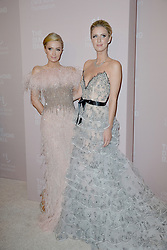September 13, 2018 - New York, NY, USA - September 13, 2018  New York City..Paris Hilton and Nicky Hilton Rothschild attending the 4th Annual Clara Lionel Foundation Diamond Ball on September 13, 2018 in New York City. (Credit Image: © Kristin Callahan/Ace Pictures via ZUMA Press)