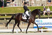 Fanni Nemeth - Firanta<br /> FEI European Dressage Championships for Young Riders and Juniors 2013<br /> © DigiShots
