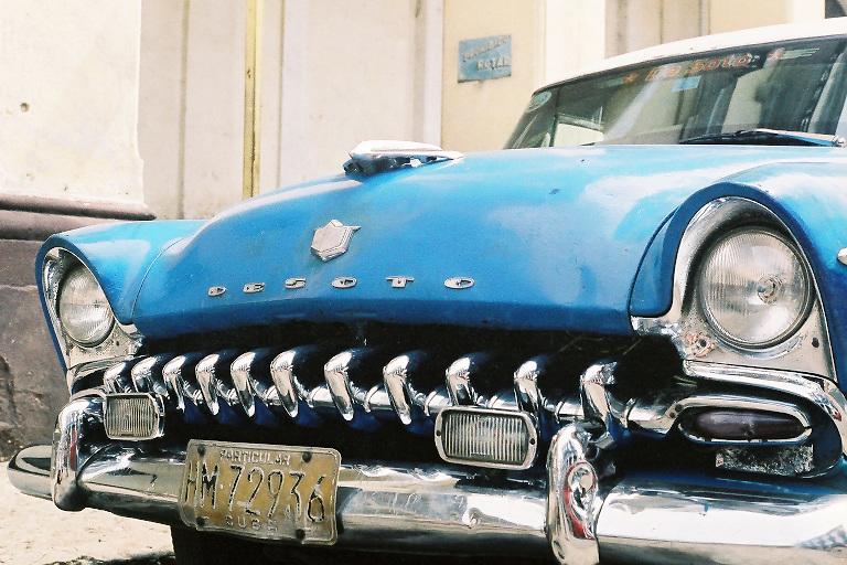 Havana Blue DeSoto Cuba Photography