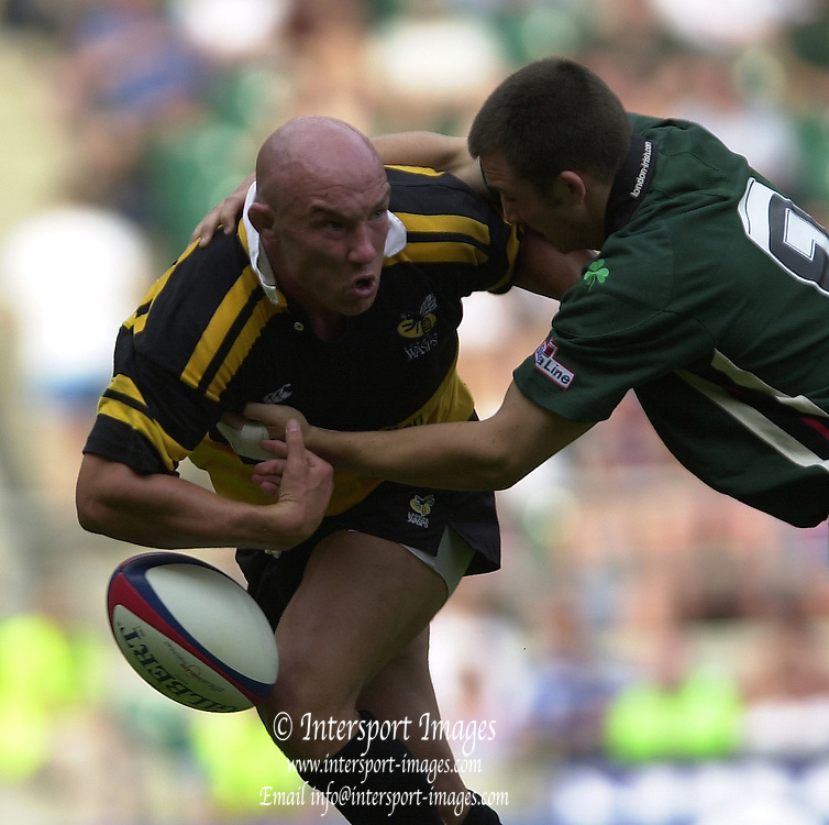 Photo Peter Spurrier.17/08/2002.Middlesex Charity Sevens - Twickenham.Wasps - Phil Greening...