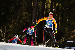 Karolin Horchler (GER) during the Women 15 km Individual Competition at day 2 of IBU Biathlon World Cup 2019/20 Pokljuka, on January 23, 2020 in Rudno polje, Pokljuka, Pokljuka, Slovenia. Photo by Peter Podobnik / Sportida