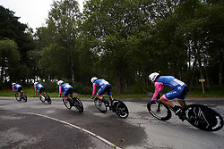 Valcar Cylance during Postnord UCI WWT Vårgårda WestSweden TTT, a 36 km team time trial in Vårgårda, Sweden on August 17, 2019. Photo by Sean Robinson/velofocus.com