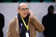 Bianchi Egidio Presidente della Lega Basket, Sidigas Avellino vs Vanoli Cremona, Poste Mobile Final 8 2018 Quarti di Finale, Lega Basket 2017/2018 Firenze 15 febbraio 2018 Nelson Mandela Forum