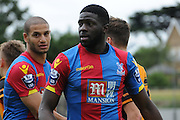 Bakary Sakho in action during the Final Third Development League match between U21 Crystal Palace and U21 Hull City at Selhurst Park, London, England on 10 August 2015. Photo by Michael Hulf.