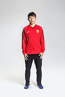 **EXCLUSIVE**Portrait of Chinese soccer player Hu Rentian of Hebei China Fortune F.C. for the 2018 Chinese Football Association Super League, in Marbella, Spain, 26 January 2018.