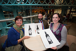 Rita Keith and Jennifer Burt from Canada pictured at the Guinness Storehouse, celebrating talent and creativity on Arthur's Day 2013. Picture Andres Poveda