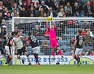 Dundee keeper Scott Bain clutches Inverness&rsquo; Ross Draper's effort  - Dundee v Inverness Caledonian Thistle in the Ladbrokes Scottish Premiership at Dens Park, Dundee, Photo: David Young<br /> <br />  - &copy; David Young - www.davidyoungphoto.co.uk - email: davidyoungphoto@gmail.com