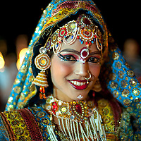 Diwali performer in Jaipur, India