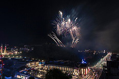Festival fireworks, Edinburgh, 26 August 2019