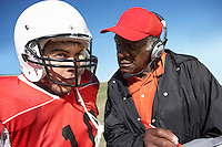 Football Player and Coach