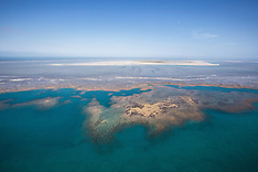 Adele Island aerial