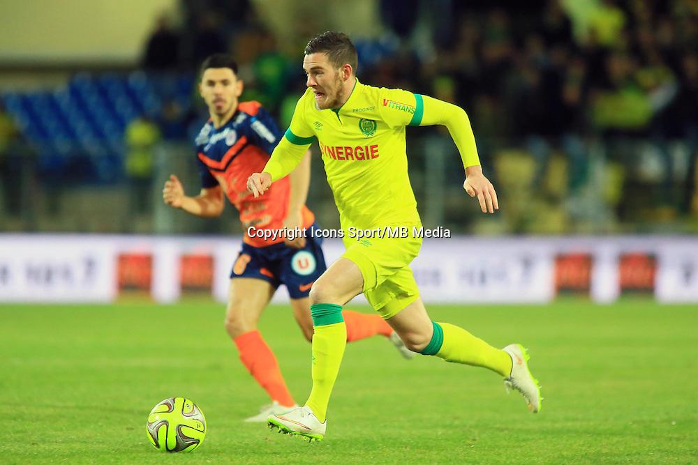 Jordan VERETOUT  - 24.01.2015 - Montpellier / Nantes  - 22eme journee de Ligue1<br />Photo : Nicolas Guyonnet / Icon Sport