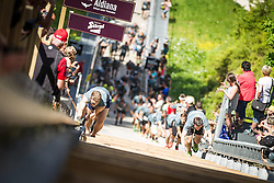 25.05.2014, Skiflugschanze Kulm, Kulm, AUT, Red Bull 400, Full Distance Männer, im Bild Teilnehmer // during the Red Bull 400 at the Skiflying Hill, Kulm, Austria on 2014/05/25, EXPA Pictures © 2014, PhotoCredit: EXPA/ M.Kuhnke