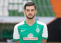 German Soccer Bundesliga 2015/16 - Photocall of Werder Bremen on 10 July 2015 in Bremen, Germany: Florian Grillitsch