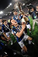 "Celebration Esultanza<br /> Yuto NAGATOMO<br /> Roma 29/5/2011 Stadio ""Olimpico""<br /> Tim Cup Finale - Italy Cup Final<br /> Football Calcio Inter Vs Palermo<br /> Foto Andrea Staccioli Insidefoto"