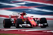 October 19-22, 2017: United States Grand Prix. Sebastian Vettel (GER), Scuderia Ferrari, SF70H