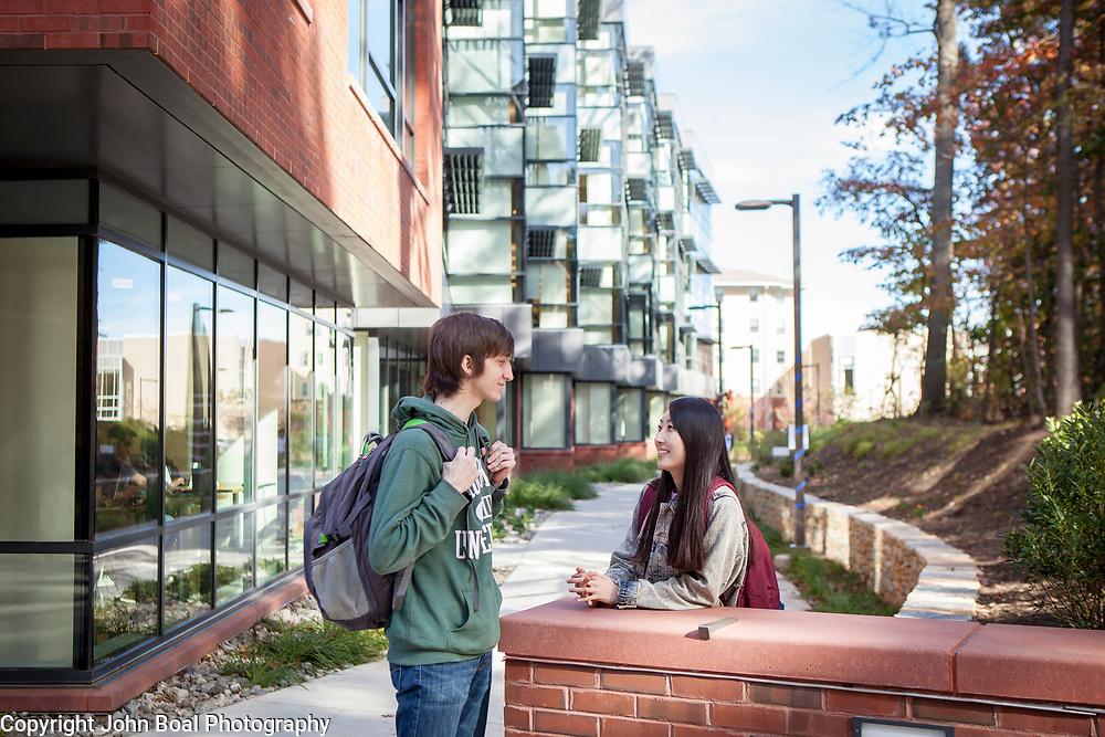 INTO partnerships, GMU Fairfax and Arlington Campuses, on Tuesday, November 8, 2016. John Boal Photography