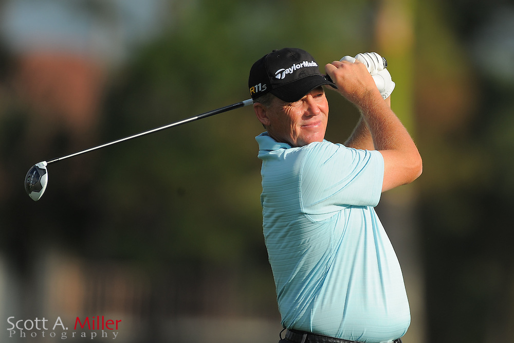 Michael Bradley during the first round of the Honda Classic at PGA National on March 1, 2012 in Palm Beach Gardens, Fla. ..©2012 Scott A. Miller.