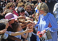 PRINCESS DIANA'S 1ST PREGNANCY - WALKABOUT ON A VISIT TO DEPTFORD, LONDON.PHOTO CREDIT MANDATORY!!: ©FRANCIS DIAS/NEWSPIX INTERNATIONAL..*ALL FEES PAYABLE TO: NEWSPIX INTERNATIONAL*..PHOTO CREDIT MANDATORY: ©FRANCIS DIAS/NEWSPIX INTERNATIONAL  (Failure to by-line the photograph will result in an additional 100% reproduction fee surcharge)..IMMEDIATE CONFIRMATION OF USAGE REQUIRED:Tel:+441279 324672/ Fax: +441279 656877.Mobile: +447775681153.NEWSPIX INTERNATIONAL, 31 Chinnery Hill, Bishop's Stortford, ENGLAND CM23 3PS.e-mail: info@newspixinternational.co.uk