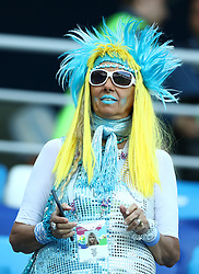 June 21, 2018 - Nizhny Novgorod, Russia - Group D Argentina v Croazia - FIFA World Cup Russia 2018.Argentina supporters at Nizhny Novgorod Stadium, Russia on June 21, 2018. (Credit Image: © Matteo Ciambelli/NurPhoto via ZUMA Press)