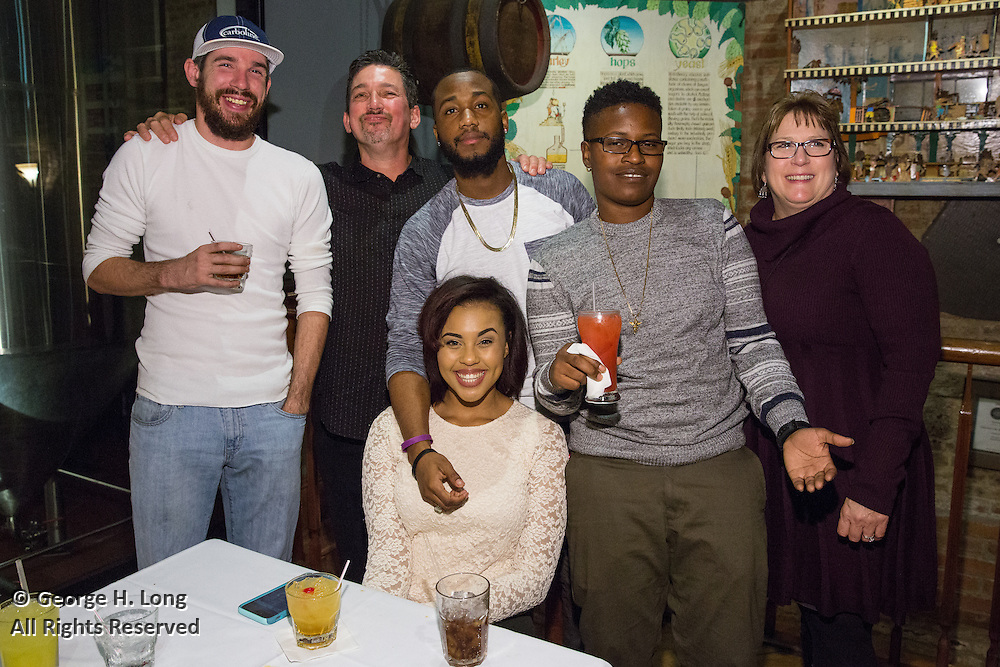 Owens & Minor Christmas party at the Crescent City Brewhouse on December 5, 2015