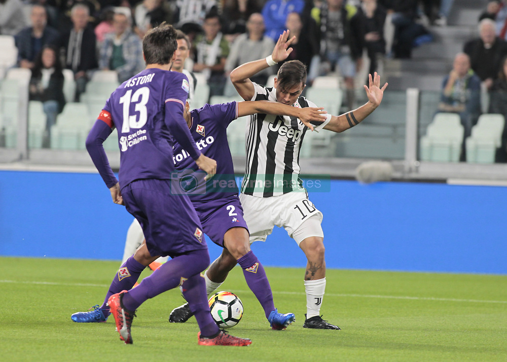 September 20, 2017 - Turin, Italy - Paulo Dybala during Serie A match between Juventus v Fiorentina, in Turin, on September 20, 2017  (Credit Image: © Loris Roselli/NurPhoto via ZUMA Press)