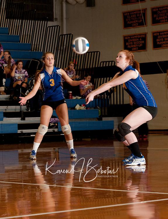 Gilford Volleyball versus Kennett October 12, 2011.