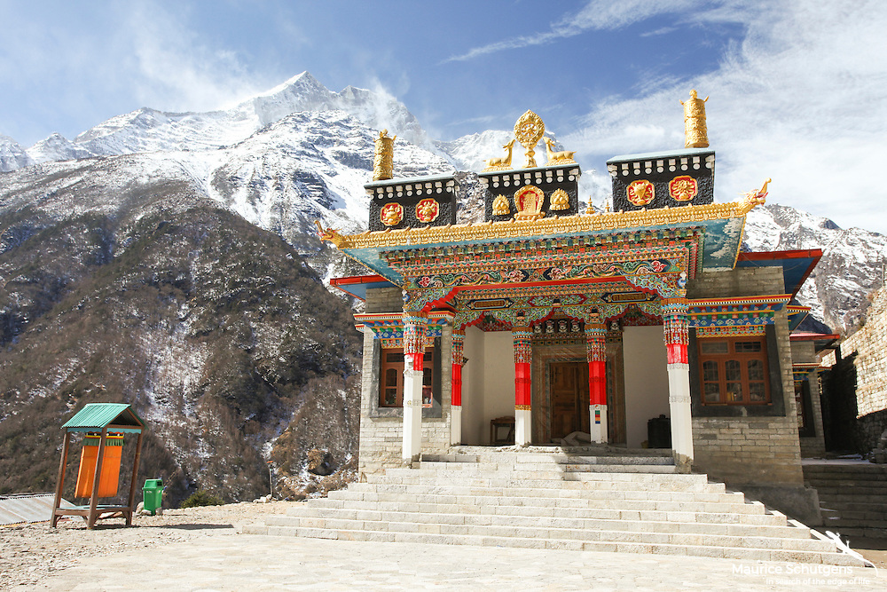One of the Everest regions most spectacular buddhist temples.