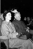 "1961 - German Ambassador to Ireland views ""Don Giovanni"" film at the Olympia Theatre"