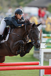 Jimenez-Carmona Gonzales Paloma, ESP, Sherie Star<br /> Young Riders European Championships Jumping <br /> Samorin 2017© Hippo Foto - Dirk Caremans<br /> 11/08/2017