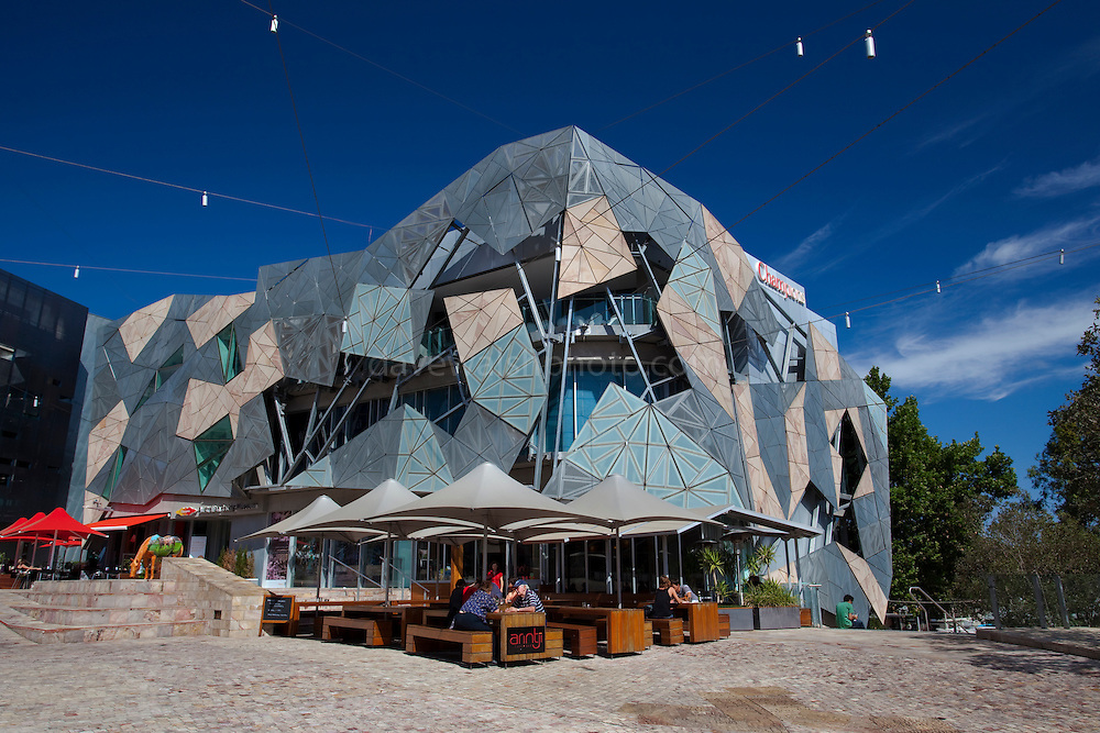 Arintji Cafe Bar, Federation Square, Melbourne