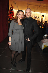 Actor TOM HARDY and RACHEL SPEED at a party to celebrate the opening of the new H&M store at 234 Regent Street, London on 13th February 2008.<br />