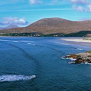 Luskentyre beach on the Isle of Harris, Scotland