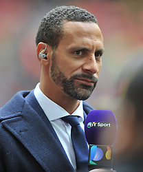 RIO FERDINAND PRESENTER, Crystal Palace v Watford Emirates FA Cup Semi Final Wembley Stadium Sunday 24th April 2016, Score Palace 2-1 (Bolasie, Wickham) Watford 1 (Deeney)