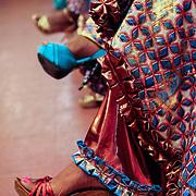 Fancy shoes at the 10,000 Women entrepreneurship program graduation, cohort 4. Monrovia, Liberia, April 2012.