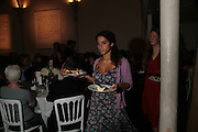 NATALIA LUCAS, Dinner in aid of 'Action Trust For the Blind organised by Matthew Carr. 20th Century Theatre. Westbourne Gro. London. 26 September 2007. -DO NOT ARCHIVE-© Copyright Photograph by Dafydd Jones. 248 Clapham Rd. London SW9 0PZ. Tel 0207 820 0771. www.dafjones.com.