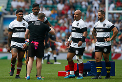 Barbarians Coach Connor McPhillips  - Mandatory by-line: Ryan Hiscott/JMP - 27/05/2018 - RUGBY - Twickenham Stadium - London, England - England v Barbarians - Quilter Cup