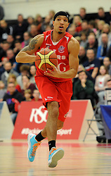Bristol Flyers' Greg Streete - Photo mandatory by-line: Dougie Allward/JMP - Mobile: 07966 386802 - 17/01/2015 - SPORT - Basketball - Bristol - SGS Wise Campus - Bristol Flyers v Worcester Wolves - British Basketball League