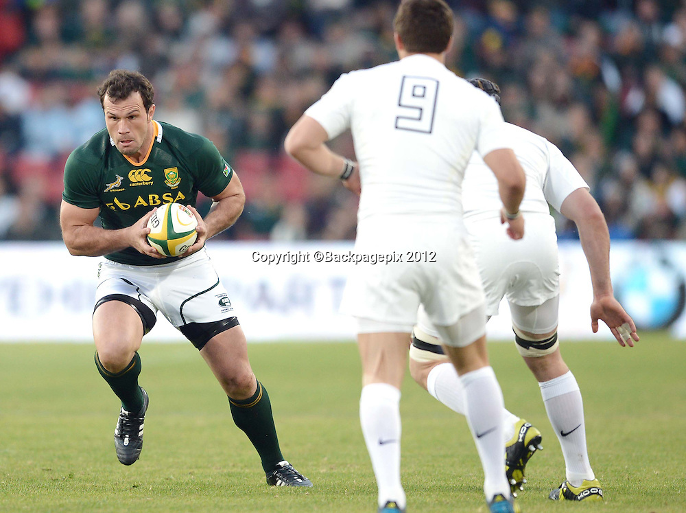 Bismarck du Plessis of the South Africa during the 2012 Castle Incoming Tour test match played against England at Ellis Park Stadium in Johannesburg, South Africa on the 16th of June 2012<br /> Barry Aldworth&copy;Backpagepix