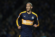 Newcastle United striker Yoan Gouffran (20) during the EFL Sky Bet Championship match between Brighton and Hove Albion and Newcastle United at the American Express Community Stadium, Brighton and Hove, England on 28 February 2017. Photo by Bennett Dean.