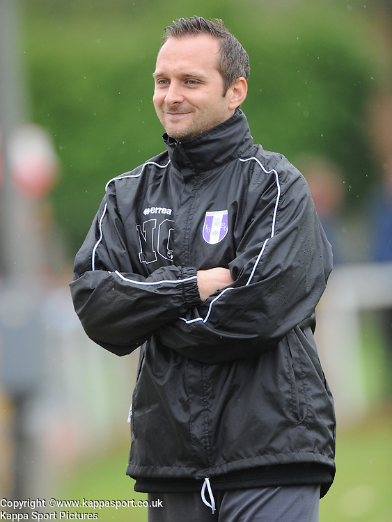 Nick Champelover, Assistant Manager, Daventry Town, Kettering Town v Daventry Town Southern League Division One Central, 25th August 2014