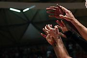 mani<br /> The Flexx Pistoia - Happy Casa Brindisi<br /> Lega Basket Serie A 2017/2018<br /> Pistoia, 09/10/2017<br /> Foto M.Ceretti / Ciamillo - Castoria