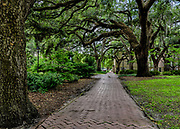 Historic Chatham Square in Savannah